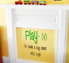 Play Definition | Wall Decals - Trading Phrases