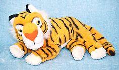 """Disney Mattel Aladdin Rajah Tiger 11"""" Plush Stuffed Animal Toy Vintage 1992"""