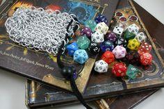 Chainmail dice bag!