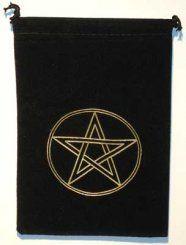 Pentagram Tarot Bag