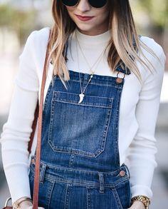 Babe Navy Grace Blog wearing our Mikhael Convertible Necklace