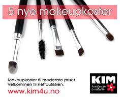 Makeup brushes www.kim4u.no