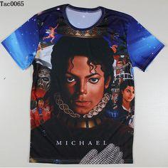 Men Michael Jackson Rock Print T-shirts The Big Bang Theory Sheldon Harajuku Blusas Summer Style T Shirts Plus Size Tshirts Tees