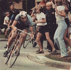 Eddy Merckx the legend 1970s. #cycling #eddymerckx #biking #oldschool #history #roadbike #cyclist #bike #bicycle #classic #vintage #hizokucycles HizokuCycles.com