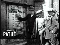 Antecedentes del conflicto. Filmación de Michael Collins en la campaña electoral de 1922. #TheTroubles