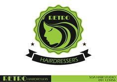 Logo Options created for a Hair Salon