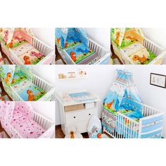 6 PIECE BABY BEDDING * 120 x 90cm * 100 % COTTON*Free delivery*