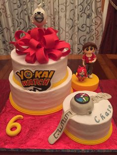 Yo-Kai Watch birthday cake