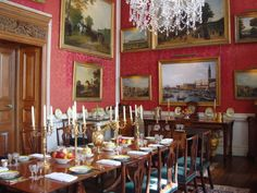 Dining Room  Highclere Castle  Pinterest  Castles Prepossessing Highclere Castle Dining Room Design Inspiration