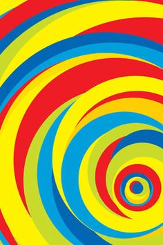 Hypnotic Circles - For further details Email us at info@printawallpaper.com or call us at +91-98110-31749