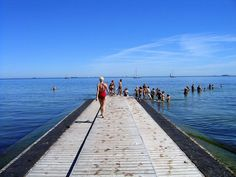 At the øresund, the strait between the kattegat and the baltic sea. copenhagen, denmark