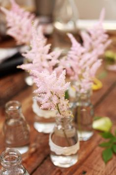 astilbe bouquet [tps_header]If you dont like classic wedding ideas and want something original for your big day, pick up astilbes. Usually astilbes are cultivated in light gentle pink, Flower Centerpieces, Wedding Centerpieces, Wedding Decorations, Wedding Ideas, Simple Centerpieces, Centrepieces, Wedding Designs, Astilbe Bouquet, Sweet Pea Flowers