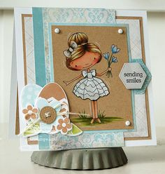 Patterned Paper - Papercrafts by Inge: February MFTeasers, Hunny Bunny and Springtime Wishes