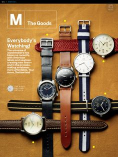 #gq #watches #spring2013