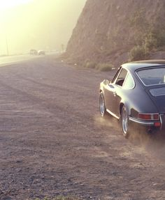 to ride off into the sunset in a Porche 911