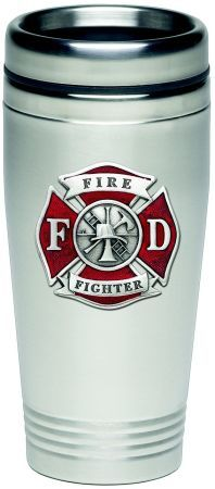 Firefighter Gift Ideas Under $10 - Maltese Cross Firefighter Party Cups