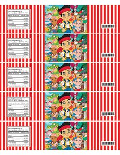jake and the neverland pirates printables free - Google Search