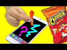 STYLUS OUT OF CHEETOS?! ♥ DIY $1 Touch Screen Stylus! - YouTube