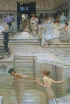 Lourens Alma Tadema - A Favourite Custom