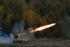 """Russia Arms Expo 2015 ТОС-1А """"Солнцепёк"""""""
