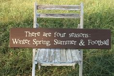There are four seasons: Winter, Spring, Summer & Football Go Dawgs! Southern Charm, Southern Belle, Southern Comfort, Phase Iv, Vikings, Kelsey Rose, Football Wedding, Sports Wedding, Football Themes