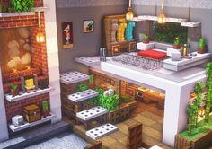 Photo Minecraft, Minecraft Bauwerke, Construction Minecraft, Minecraft Mansion, Minecraft Cottage, Easy Minecraft Houses, Minecraft House Tutorials, Minecraft House Designs, Minecraft Tutorial