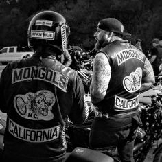 California's Mongols motorcycle club hangin out with Show class bike event at Cooks Corner bar built back in 1884 one. Biker Clubs, Motorcycle Clubs, Norse Tattoo, Mongrel, Hells Angels, Chicano Art, Harley Davidson, 1, Photo And Video