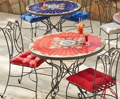 Shop Pier 1 Outdoor Furniture: The Rania U0026 Mariel Mosaic Collections