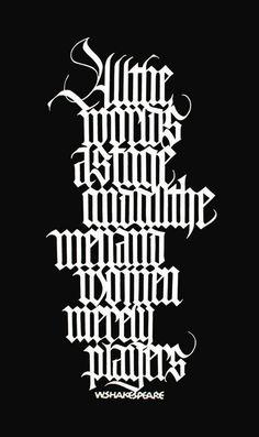 All the world's a stage (cutting letters), 2000 (Izumi Shiratani)