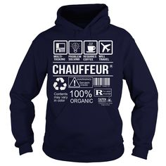 Awesome Tee For Chauffeur T-Shirts, Hoodies. BUY IT NOW ==► https://www.sunfrog.com/LifeStyle/Awesome-Tee-For-Chauffeur-92656656-Navy-Blue-Hoodie.html?id=41382