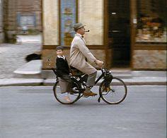 velosolex....tornerai!!!  da Mon Oncle-Jacques Tati (1958)