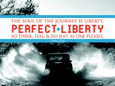 The soul of the journey is liberty, perfect liberty to think, feel, and do just as one pleases - William Hazlitt #quotes #travel #wordsofwisdom #travelling