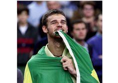 Gustavo Kuerten é o primeiro homem brasileiro a entrar no Hall da Fama do tênis