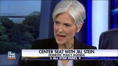 Jill Stein Panel Interview with Center Seat on Fox News 15th September 2016