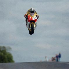 this is some massive air for a bike