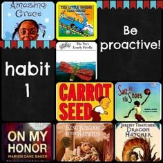 Leader in Me Library Book List. Here is a great list of books for teaching Habit 1.