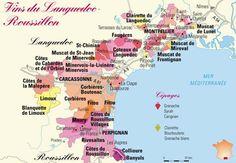Languedoc, wine region, France.
