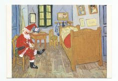 The beautiful holiday cards drawn by famous artists for their friends - The Washington Post