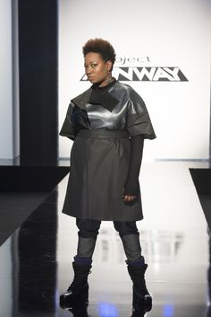 Designer Mah-Jing's design created for his mom on Project Runway.