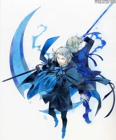 Artbooks » Jun Mochizuki Art Works Pandora Hearts Odds And Ends » Item 3 @ Kisuki.net