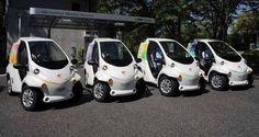 Autopartage électrique : des Toyota i-Road et COMS à Grenoble #voiture #electrique #autopartage