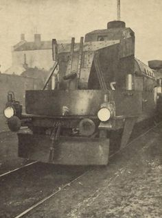 артиллерийский  вагон Австо-венгерского бронепоезда\ artillery wagon of Austria-Hungarian armored train WW I