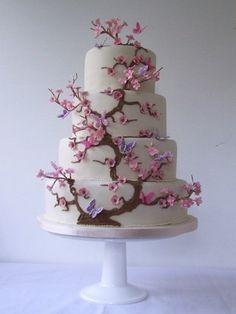 From Gorgeous Cakes UK. visually beautiful, interesting