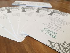 Designing Our Own Invitations – Gemily Say 'We Do'