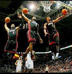 My favorite team is the Miami Heat.  The reason is because to be the best you have to learn from the best.