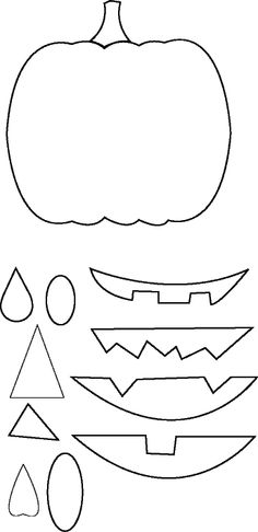 Jack O'Lantern applique patterns