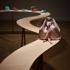 """REPETTO, Paris, France, """"The Jebba Bag"""", (When the scarfs on the hips of oriental dancers inspire the design of a bag)., pinned by Ton van der Veer"""