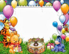 Birthday quotes for kids disney winnie the pooh 16 super ideas Birthday Photo Frame, Happy Birthday Frame, Happy Birthday Photos, Birthday Frames, Birthday Background, Disney Winnie The Pooh, Winnie The Pooh Pictures, Winnie The Pooh Themes, Winnie The Pooh Birthday