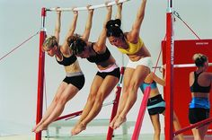 Once a gymnast always a gymnast!