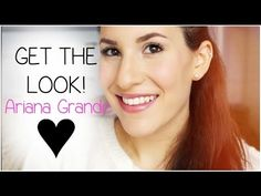 Get The Look: Ariana Grande ♡ Ariana Grande Makeup, Makeup Looks, Makeup Style, Hello Gorgeous, Beautiful, Fall Makeup, Different Hairstyles, Get The Look, Hair Hacks